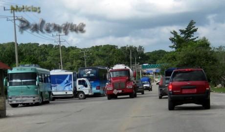 Mayor afluencia este año en las carreteras federales de la zona.