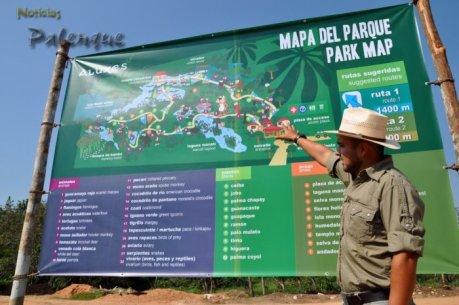 Una nueva opción de esparcimiento y educación en Palenque
