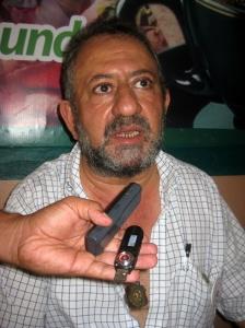 Amín Cholác resaltó que la lucha es jurídica contra la CFE