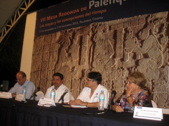 Inicia La VII Mesa Redonda De Palenque Con El Tema    Los Mayas Y El