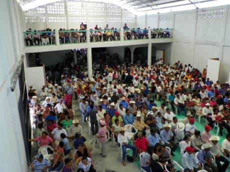 La asamblea popular por votación tomó acuerdos en Chancalá